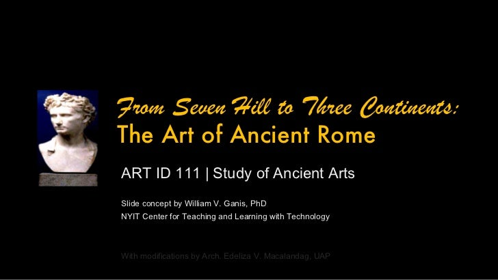 ARTID111 Ancient Roman Art