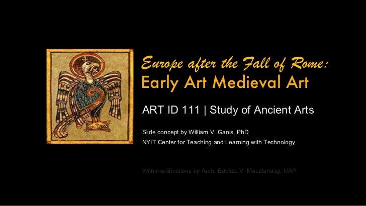 ARTID121 Early Medieval Art