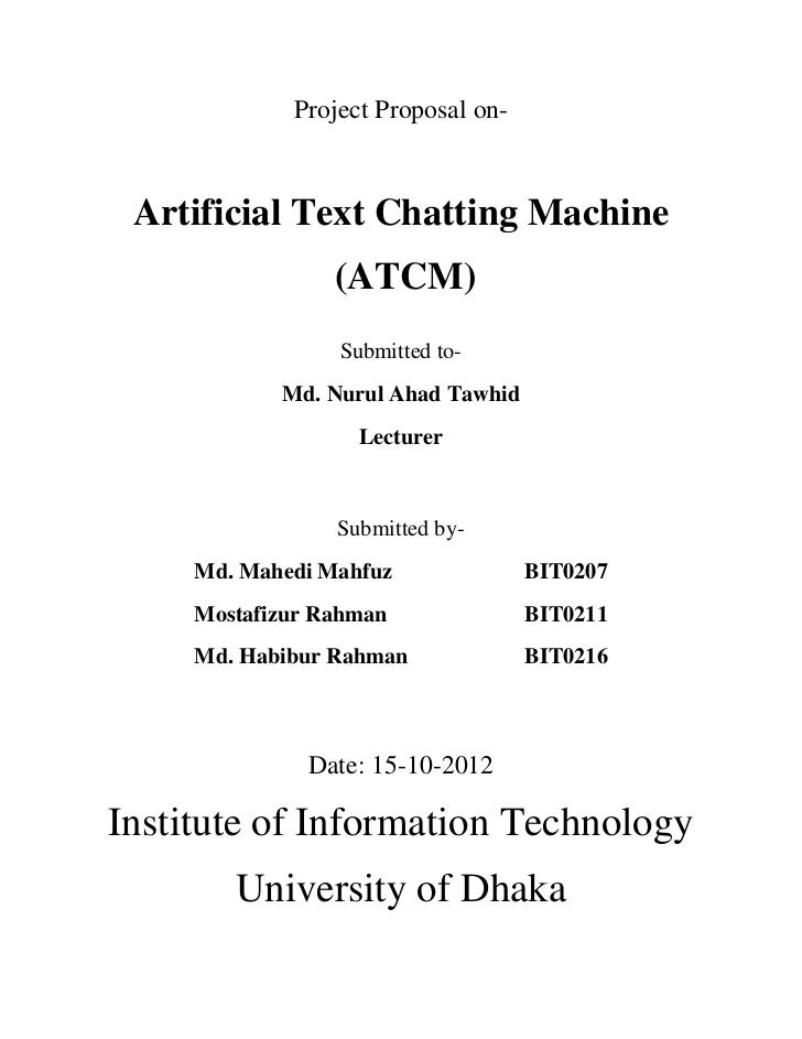 Artificial Text Chatting Machine (ATCM)