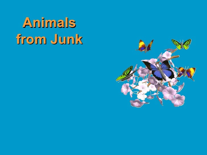 Animals from Junk