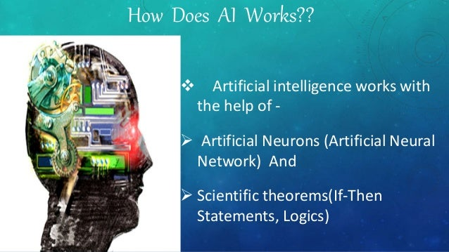 perception and artificial intelligence Types of artificial neural networks artificial intelligence is a science and technology based on disciplines such as computer perception, and problem solving.