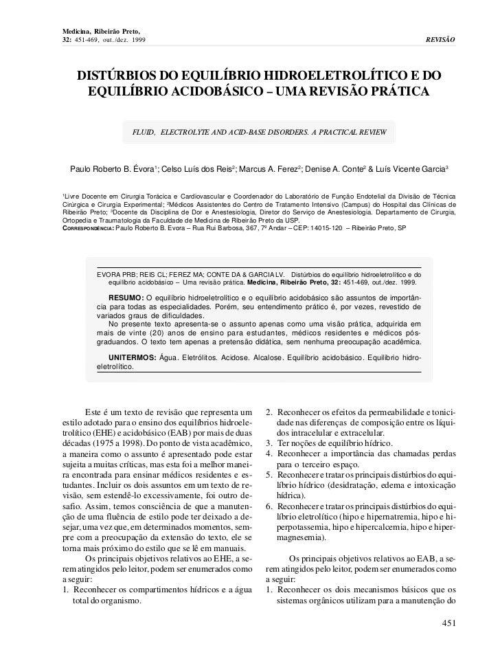 Medicina, Ribeirão Preto,32: 451-469, out./dez. 1999                                                                      ...