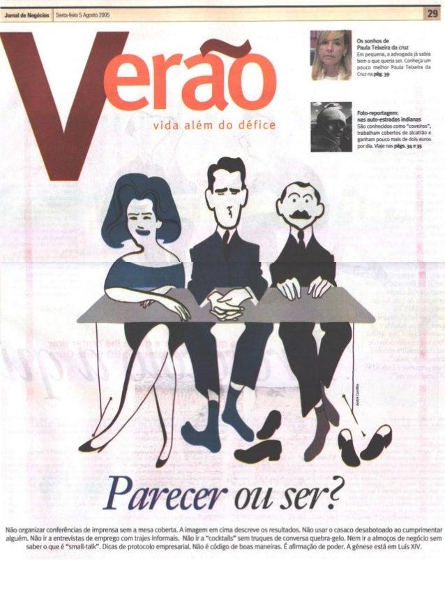 Artigo Jornal Negocios