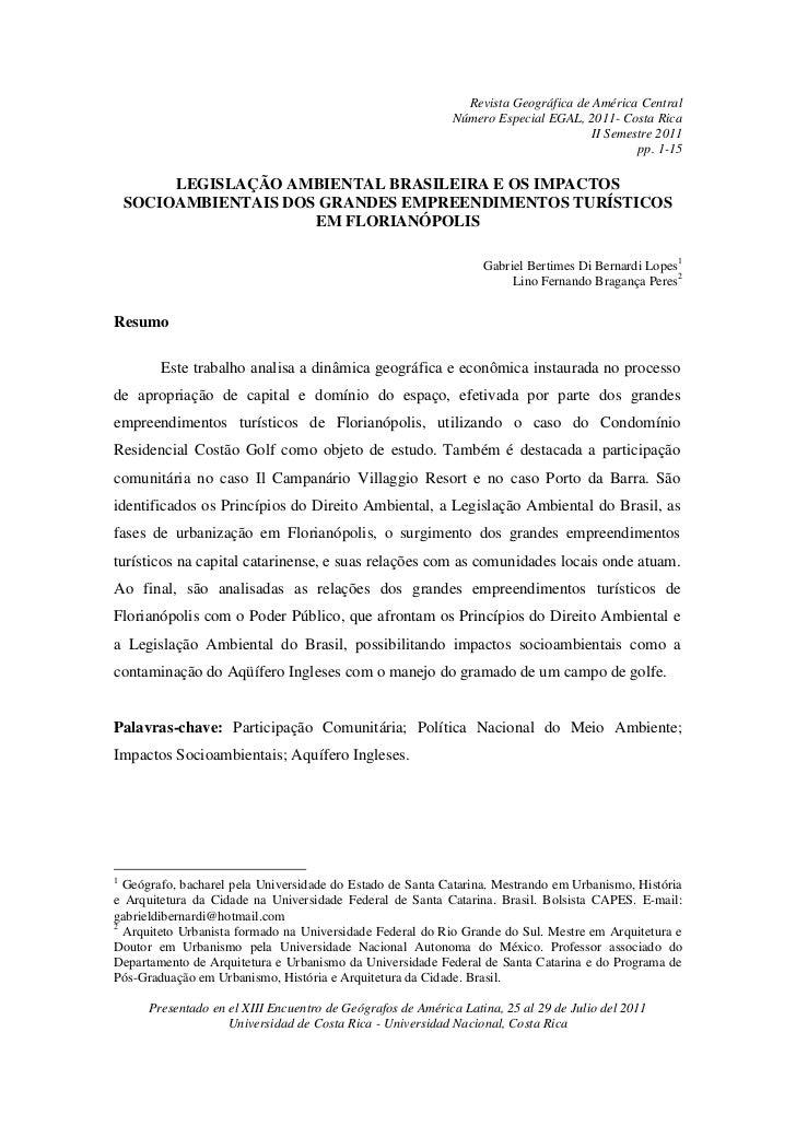 Revista Geográfica de América Central                                                            Número Especial EGAL, 201...