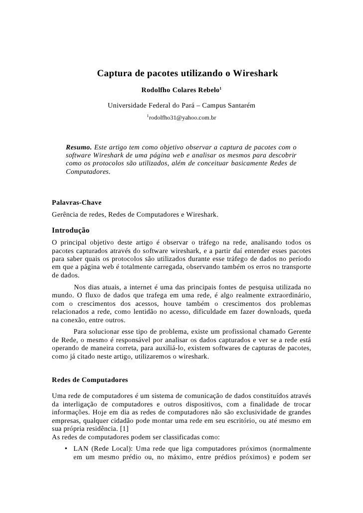 Artigo Rodolfho
