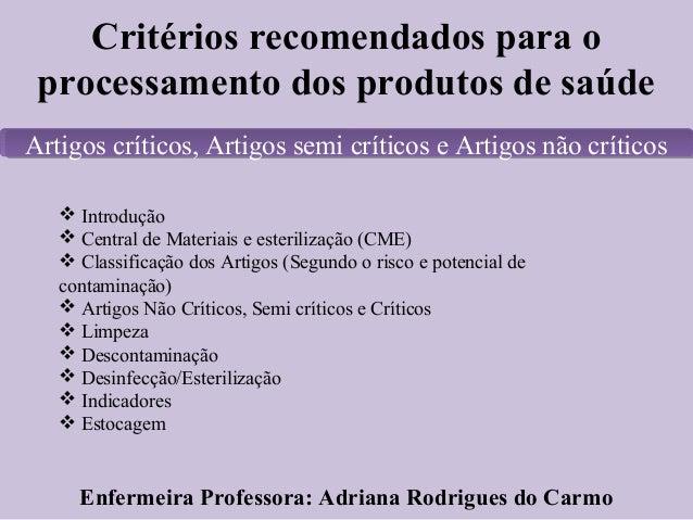Artigos criticos semicriticos e nao criticos