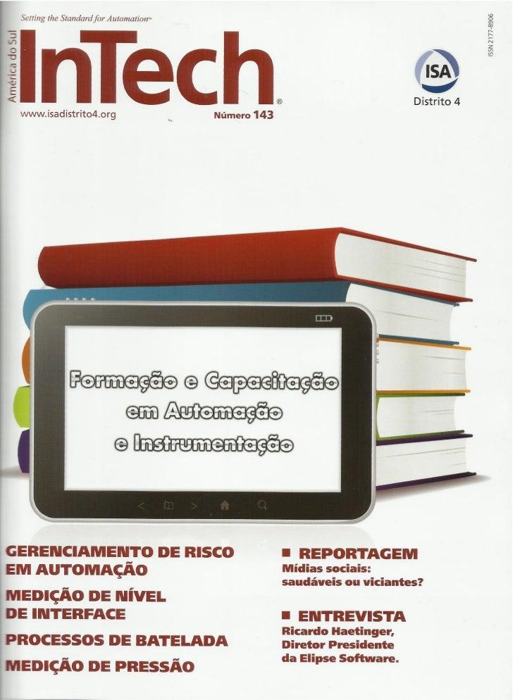 Artigo na Revista Intech 143 - Os perigos do acesso remoto a sistemas SCADA