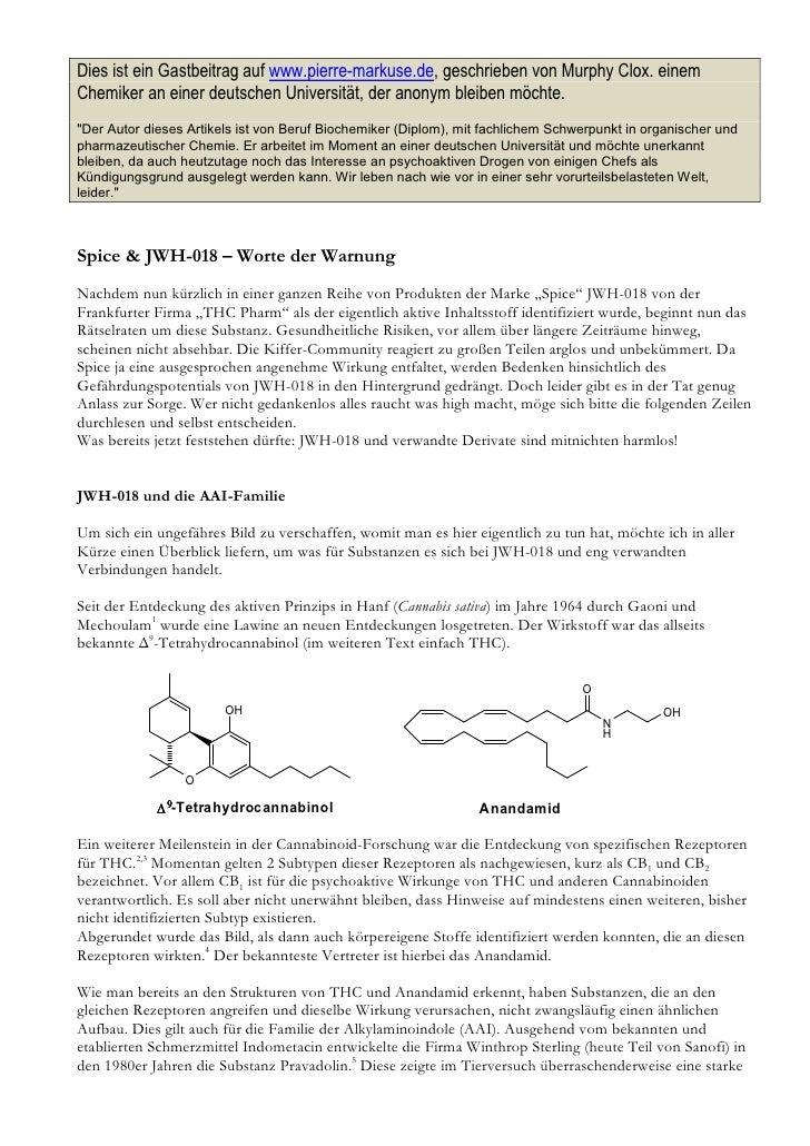 Dies ist ein Gastbeitrag auf www.pierre-markuse.de, geschrieben von Murphy Clox. einem Chemiker an einer deutschen Univers...