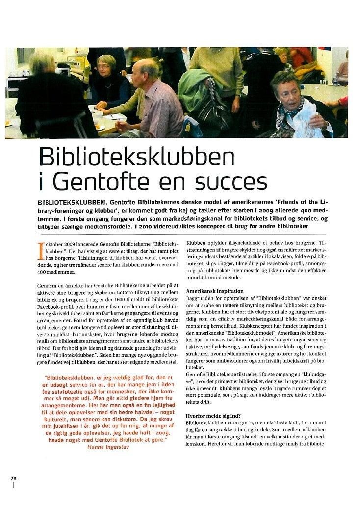 Artikel Om Biblioteksklub Db 1 2010