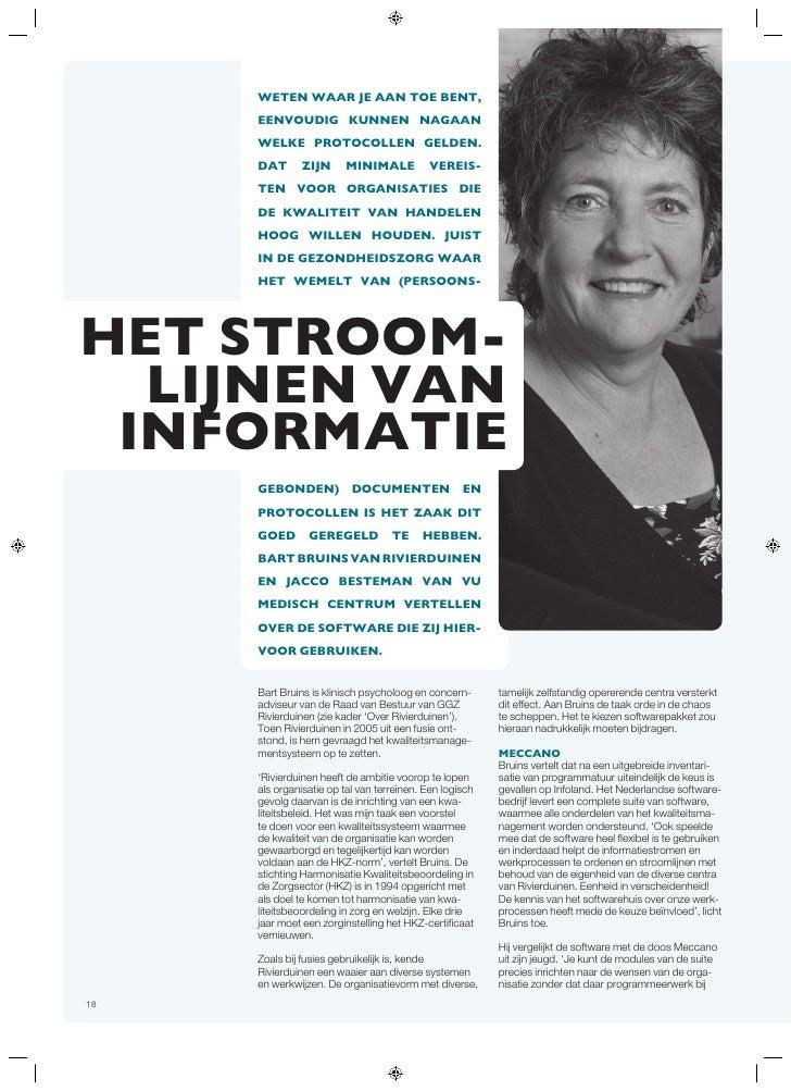 Artikel Stroomlijnen Informatie