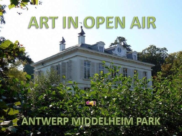 ART IN OPEN AIR<br />ANTWERP MIDDELHEIM PARK<br />
