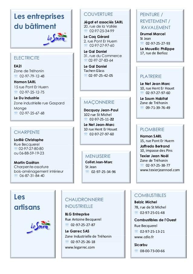 CHARPENTELorillé ChristopheRue Becquerel℡ 02-97-27-80-80ou 06-88-59-19-23Martin GaëtanCharpente-ossaturebois-aménagement i...