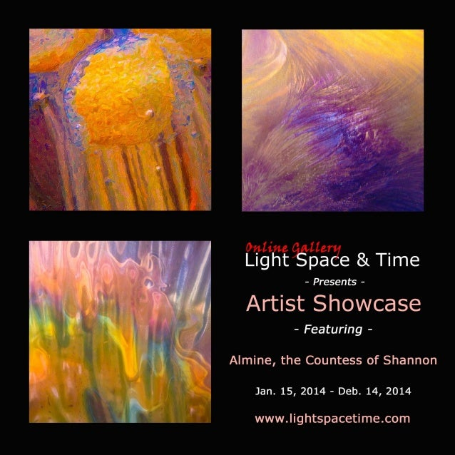 Artist Showcase - Alimine the Countess of Shannon - Event Postcard