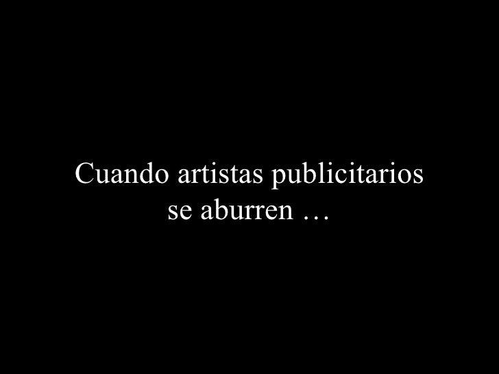 Artistas publicitarios