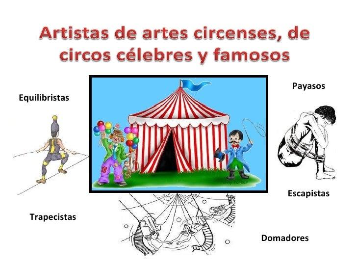 Artistas de artes circenses de circos famosos bis