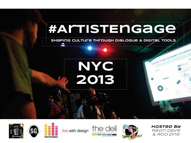 #ArtistEngage Overview