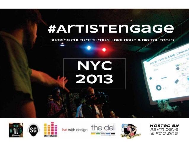 #ArtistEngage Overview