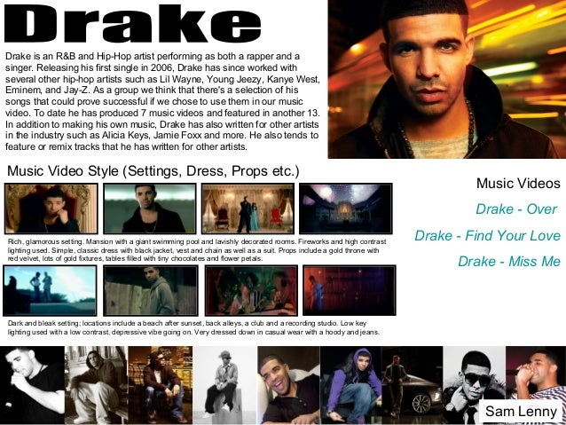 Drake is an R&B and Hip-Hop artist performing as both a rapper and a singer. Releasing his first single in 2006, Drake has...