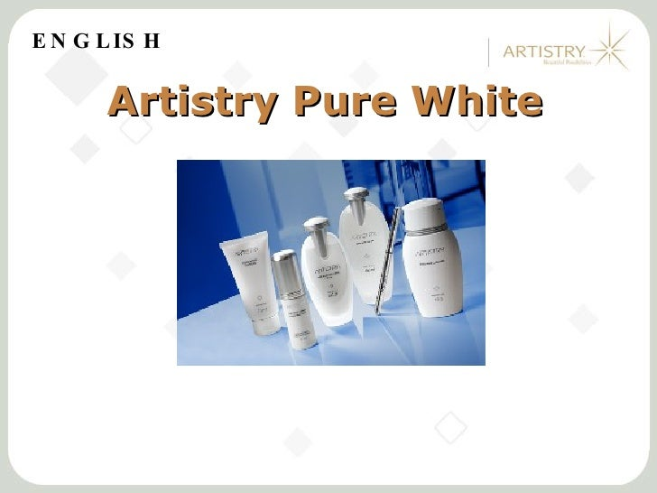 Artistry Pure White Rally