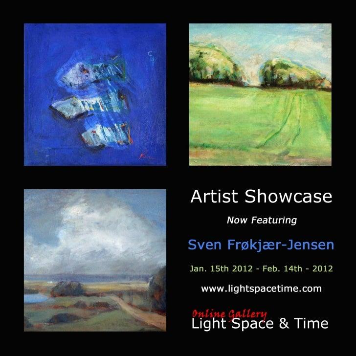 Artist Showcase Sven Frøkjær-Jensen Event Postcard