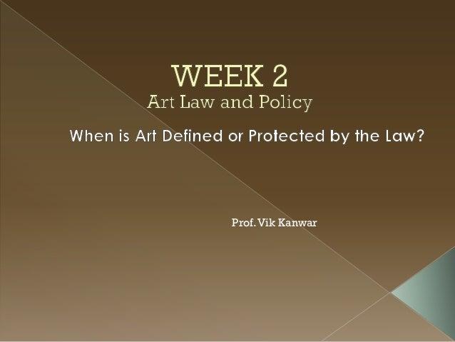 Art Law Class 2 (2013)