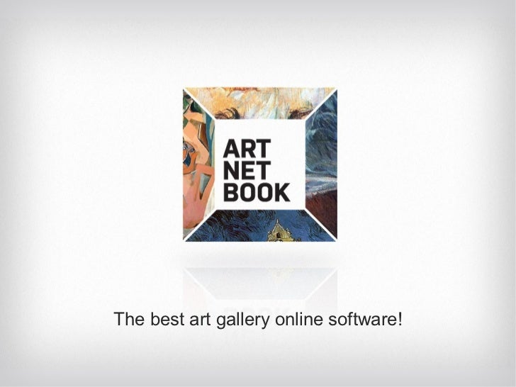 The best art gallery online software!