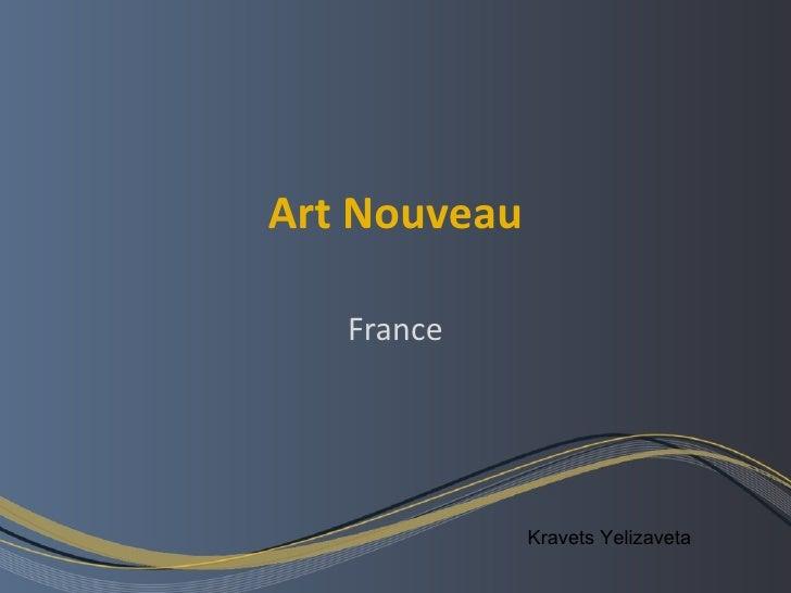 Art nouveau. france