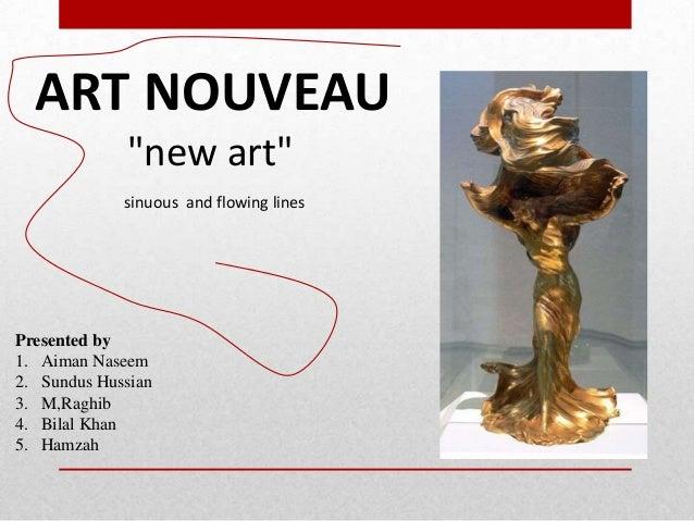 Art nouveau...