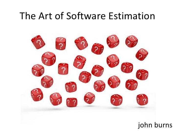 The Art Of Estimation