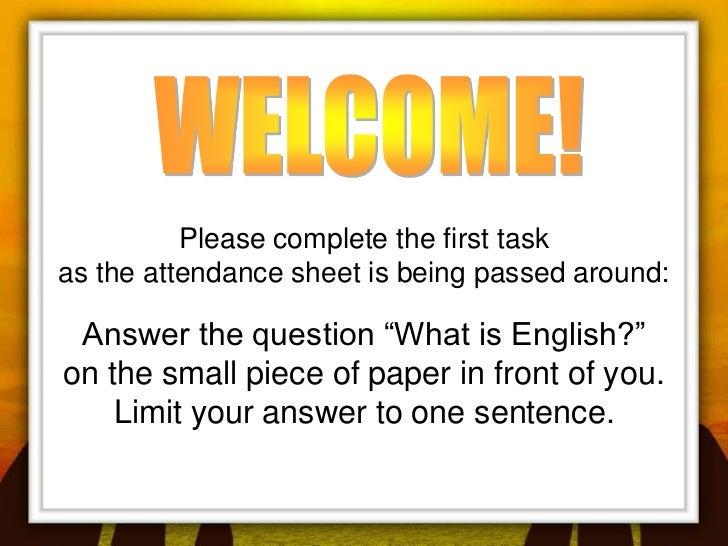 Art of Facilitating Language Learning Presentation