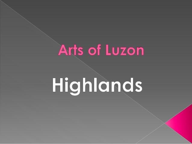 Art Of Luzon Highlands
