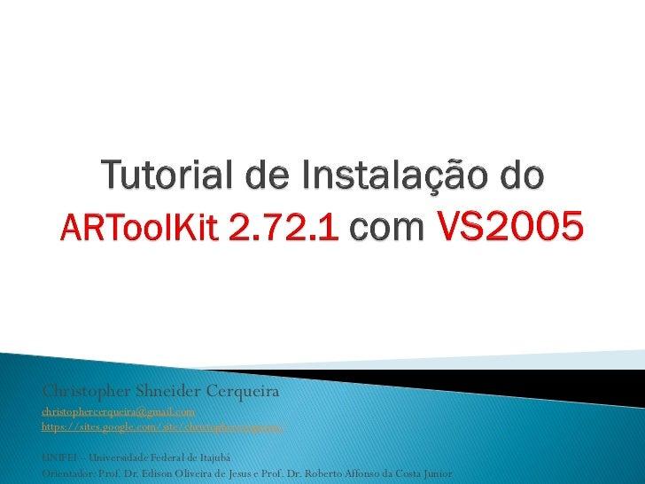 Artoolkit vs2005 v1.0