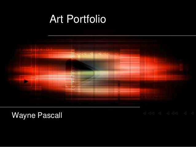 Art Portfolio of Wayne Pascall