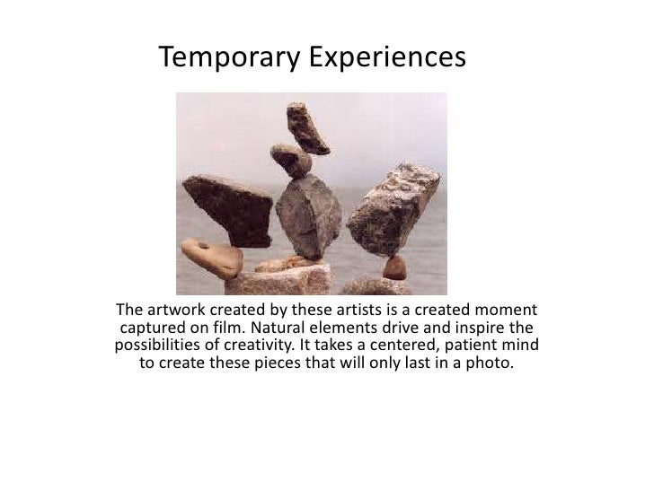 The artwork created by these artists is a created moment captured on film. Natural elements drive and inspire the possibil...