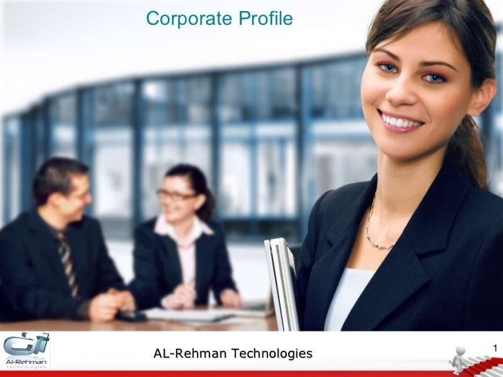Corporate Profile AL-Rehman Technologies