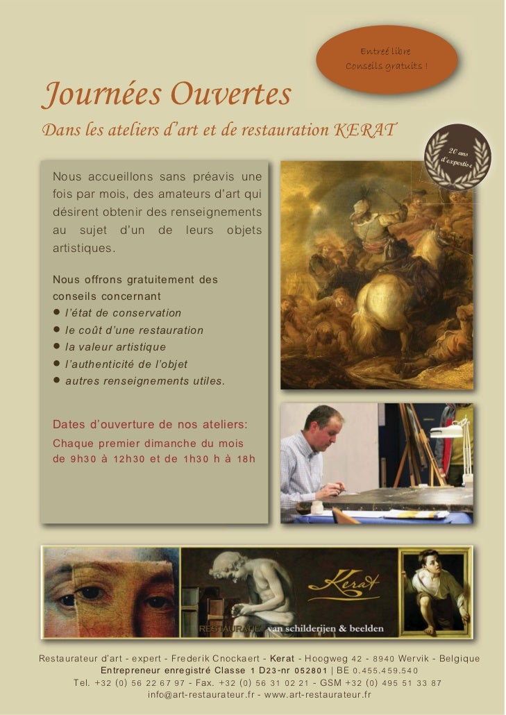 Art restaurateur kerat_info