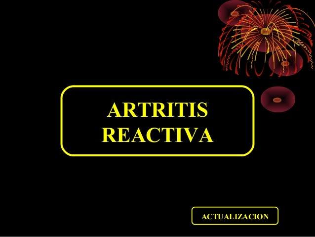 ARTRITIS REACTIVA ACTUALIZACION