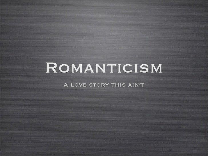 Art romantics
