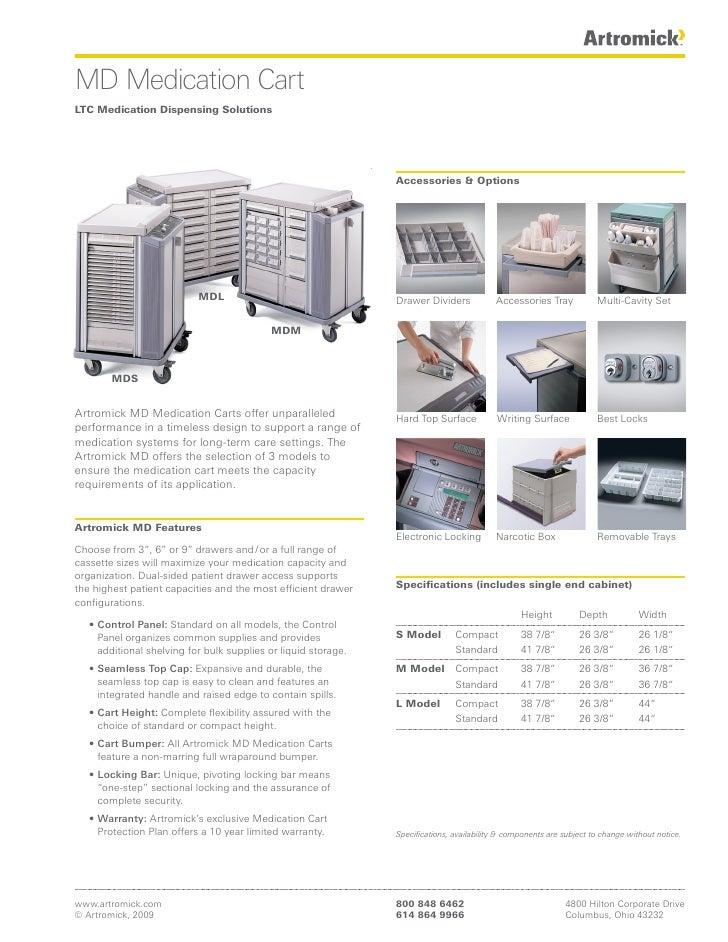 MD Medication Cart LTC Medication Dispensing Solutions                                                                    ...