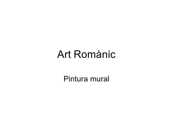 Art Romànic Pintura mural