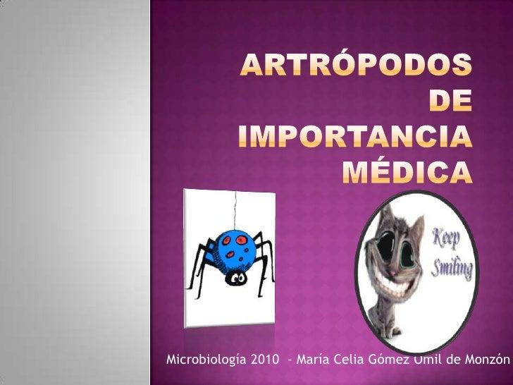 Microbiología 2010 - María Celia Gómez Omil de Monzón