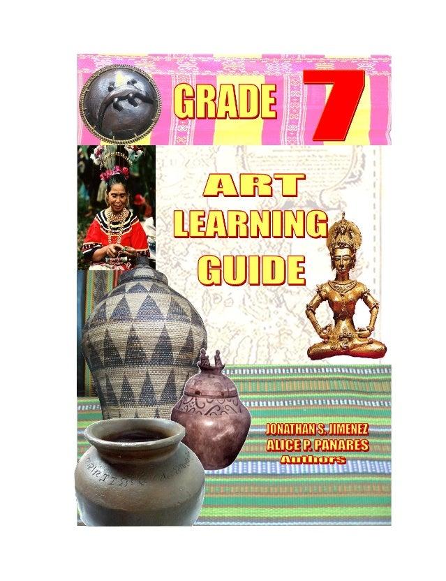 K TO 12 GRADE 7 LEARNING MODULE IN ARTS