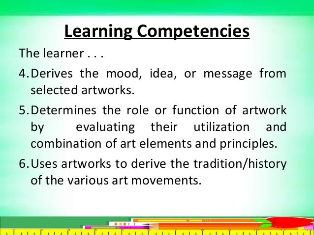 role and function of art