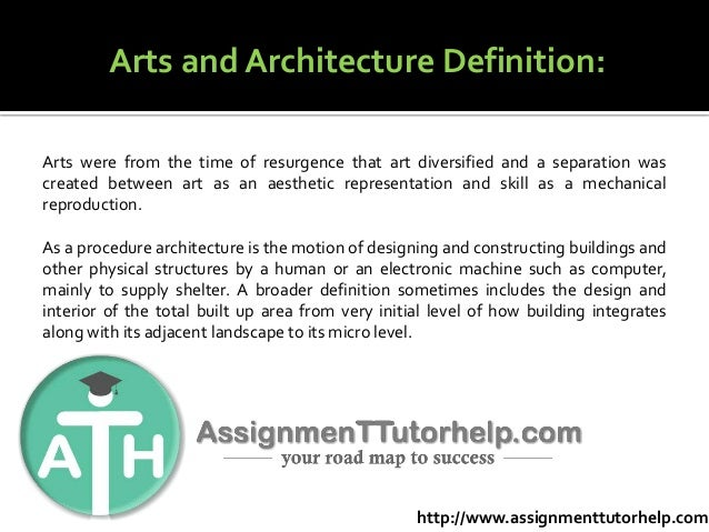 Architecture assignment help
