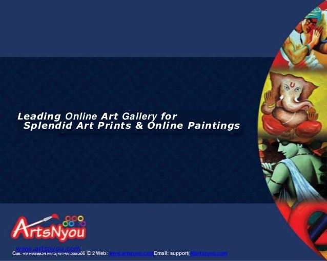Arts nyou brochure   Buy Paintings Online