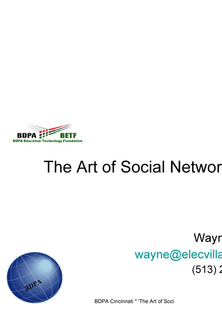 The Art of Social Networking