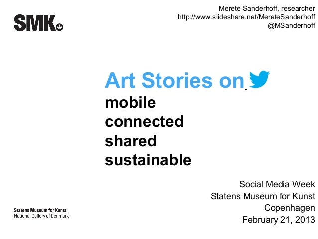 Mobile Art Stories #SMWCPH