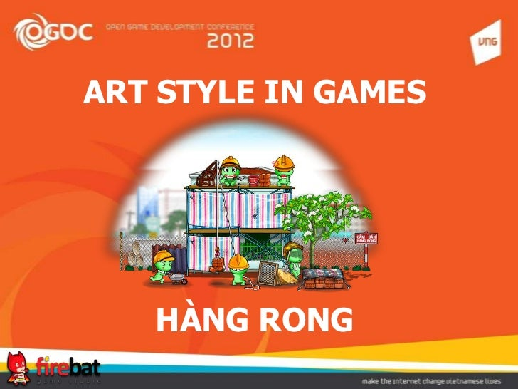 Art style in game Hang Rong