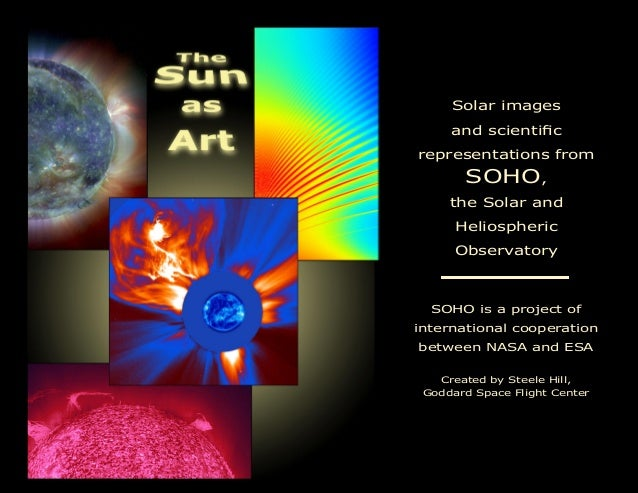 Solar images and scientic representations from SOHO, the Solar and Heliospheric Observatory SOHO is a project of internat...