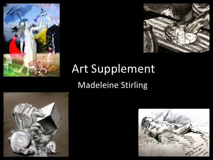 Art Supplement<br />Madeleine Stirling<br />